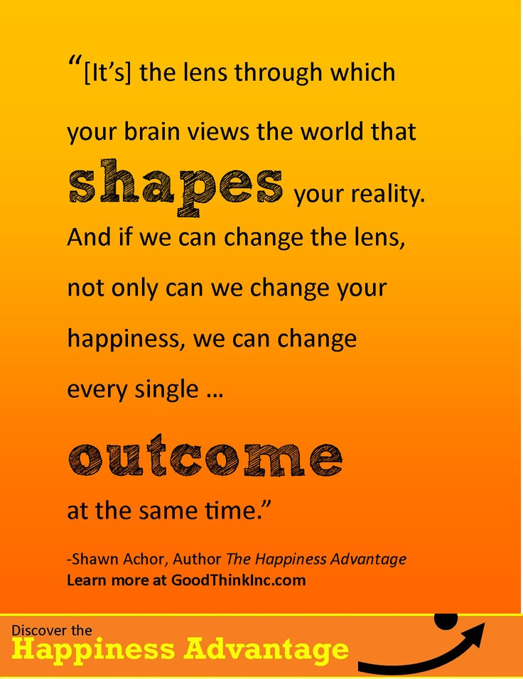 Shawn Achor Quotes Simple The Happiness Advantage  Healthy Discoveries